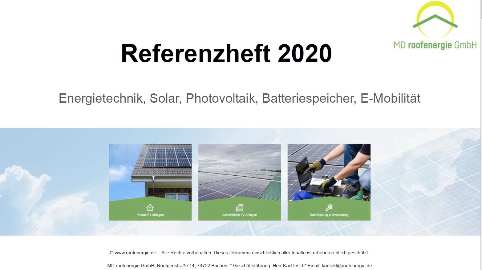 Referenzheft 2020
