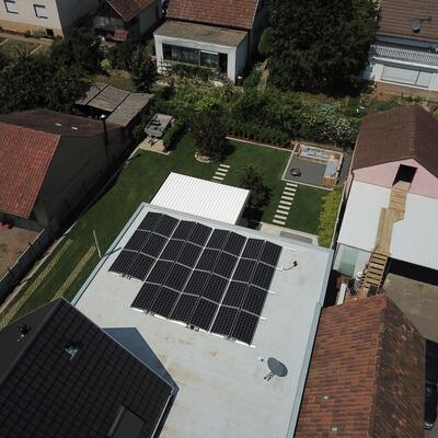 9,6 kWp Photovoltaikanlage in 74196 Neuenstadt