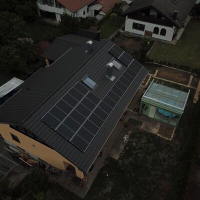 Neuinstallation Photovoltaikanlage 9,9 kWp, in 75031 Eppingen