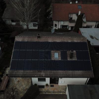 Neuinstallation 9,9 kWp in Erlenbach