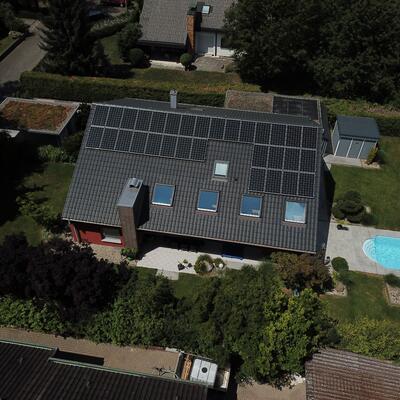 9,9 kWp Photovoltaikanlage, in 749629 Pfedelbach
