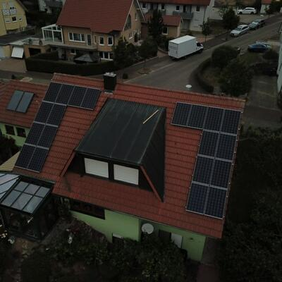 Neuinstallation Photovoltaikanlage 6,6 kWp in 75050 Gemmingen