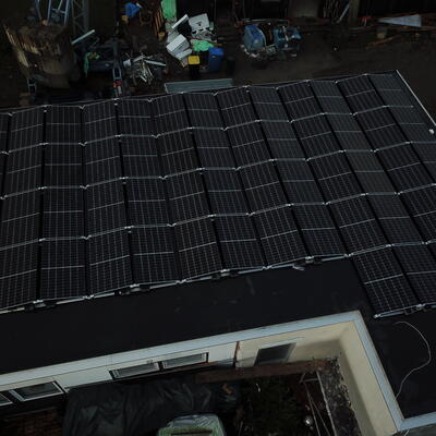 Photovoltaikanlage in Buchen