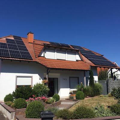 Photovoltaikanlage in Walldürn