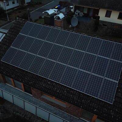 9,9 kWp Photovoltaikanlage