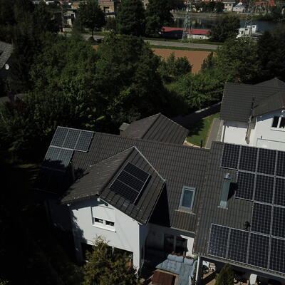 Neuinstallation Photovoltaikanlage 9,9 kWp in 74855 Haßmersheim